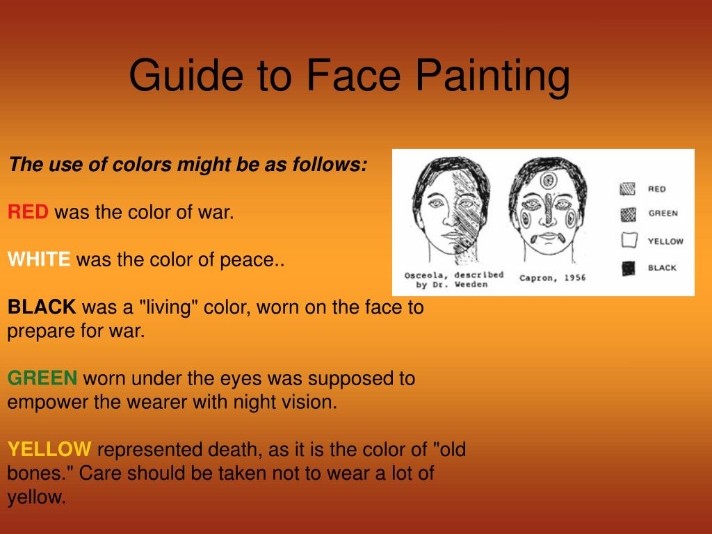 Guide to Face Painting
