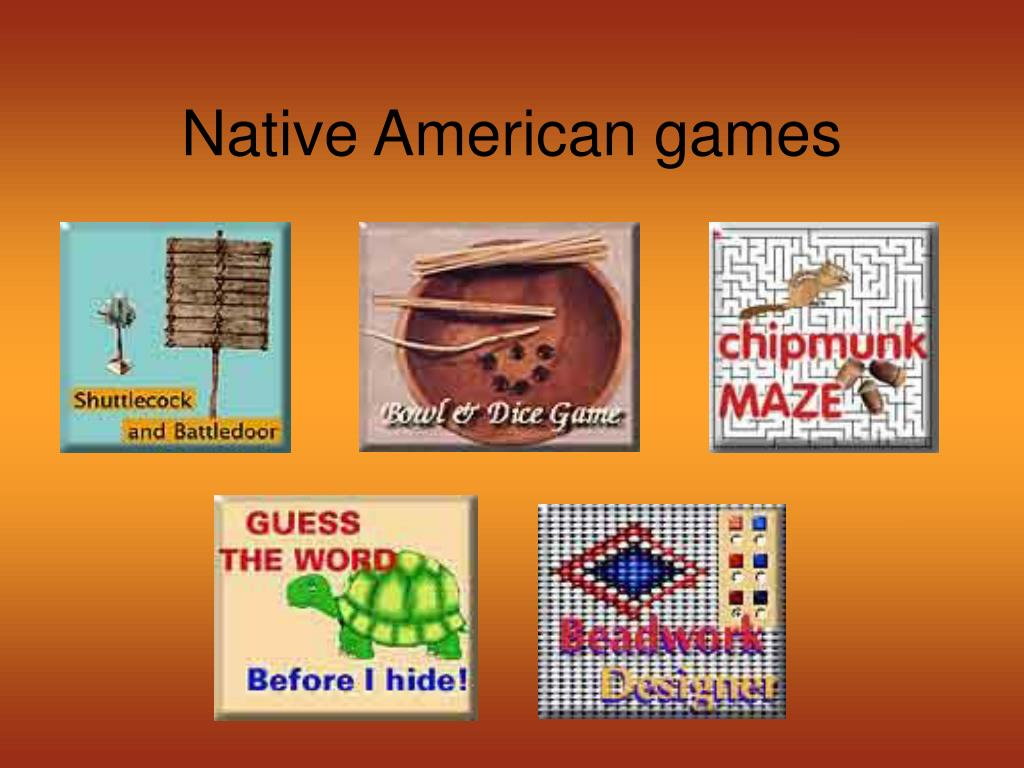 Native American games