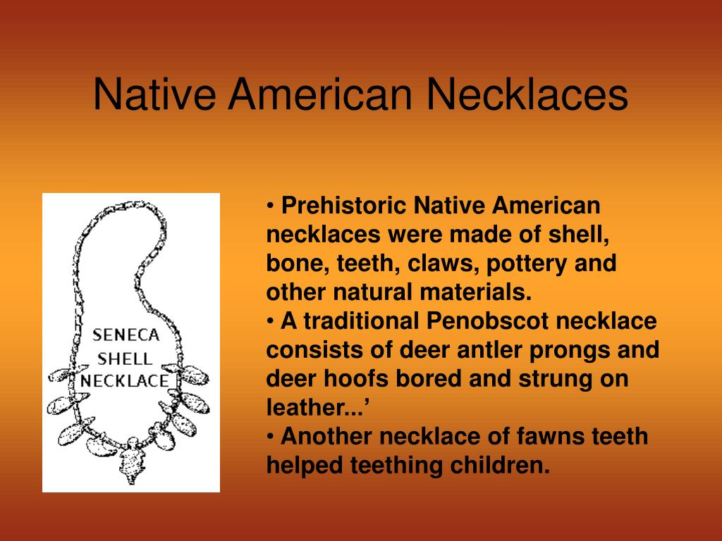 Native American Necklaces