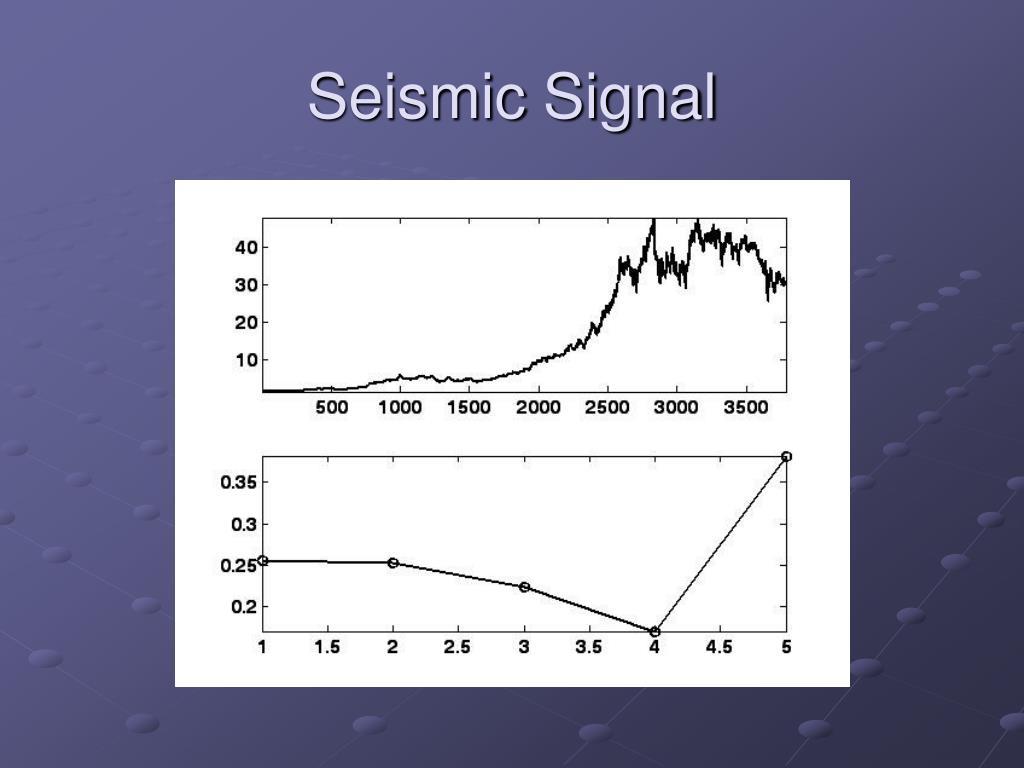 Seismic Signal