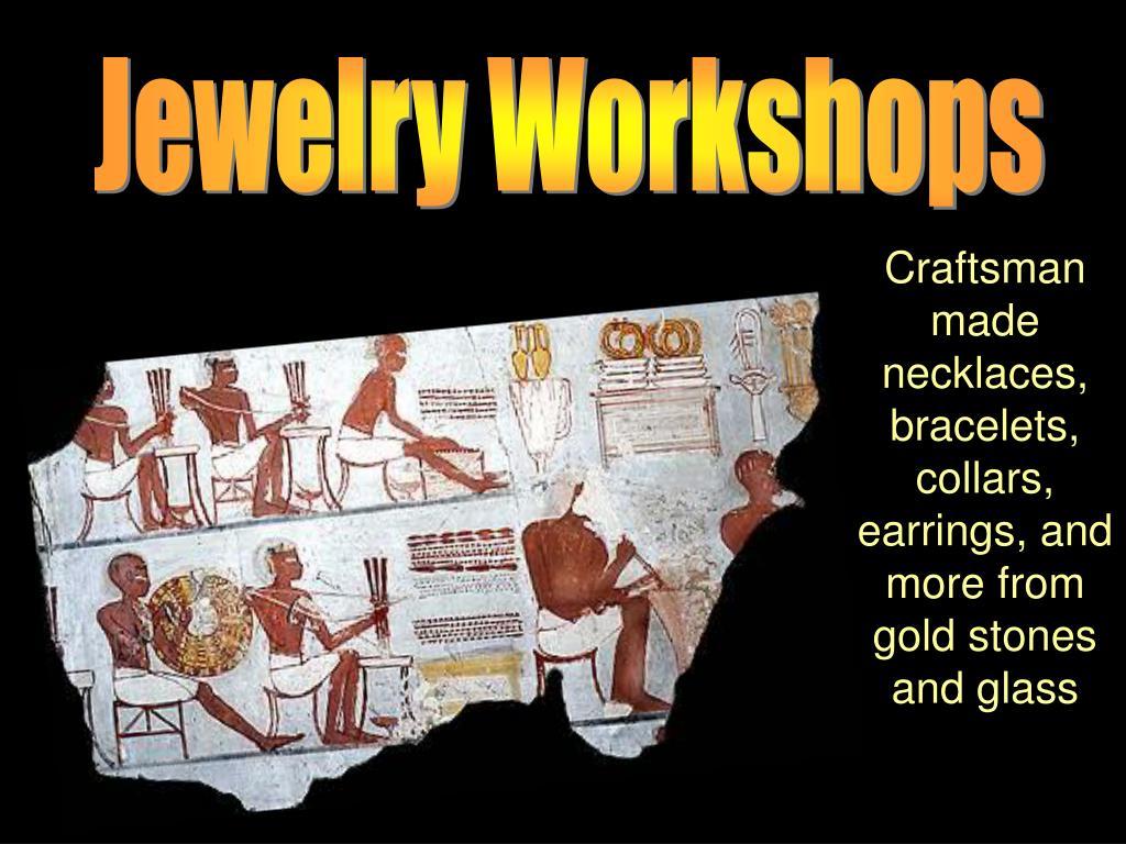 Jewelry Workshops