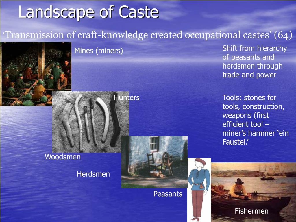 landscape of caste l.