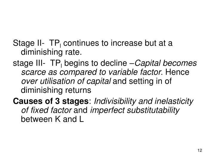 causes of diminishing returns