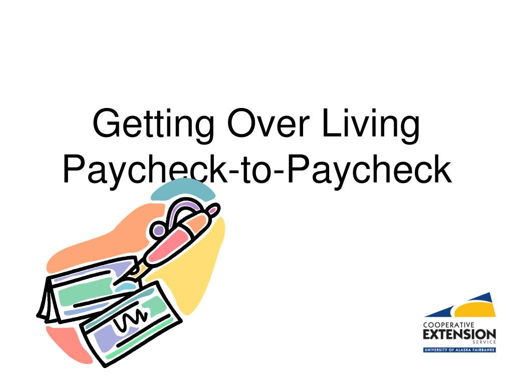 getting over living paycheck to paycheck l.