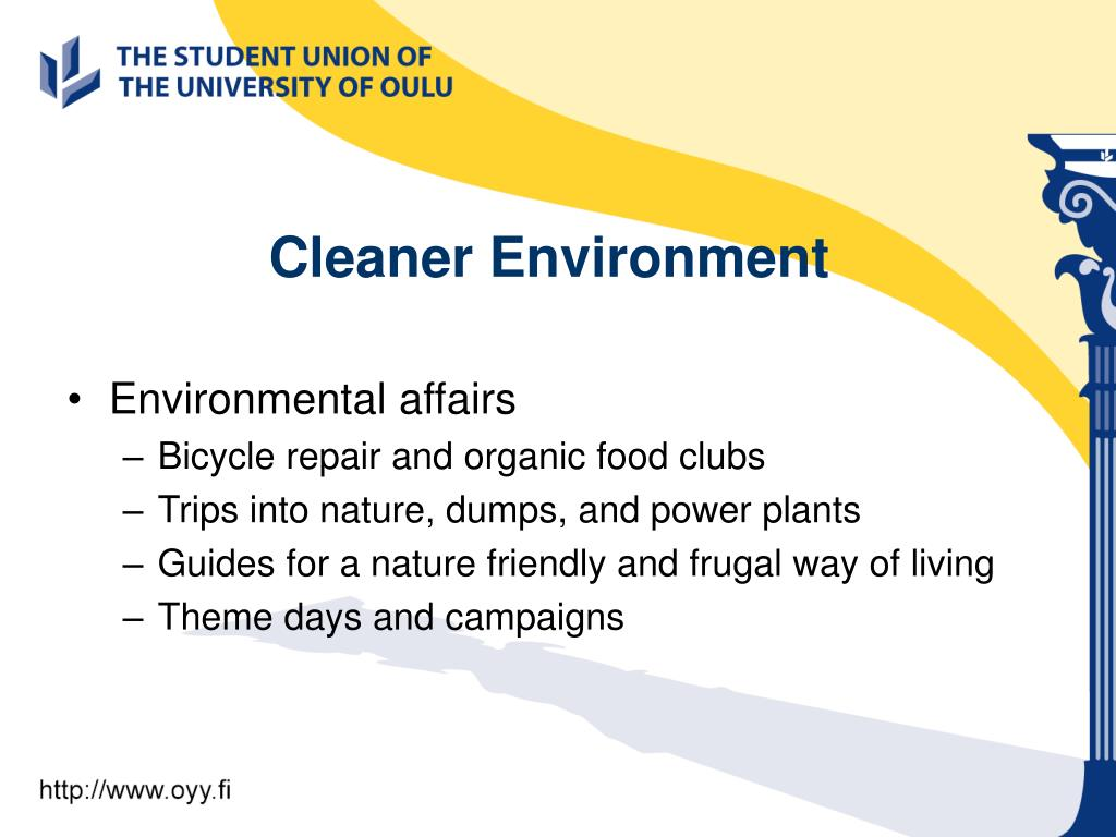 Cleaner Environment
