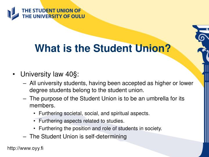 What is the student union