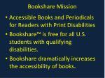 bookshare mission