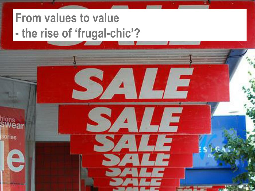 From values to value