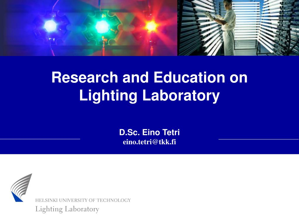 Research and Education on