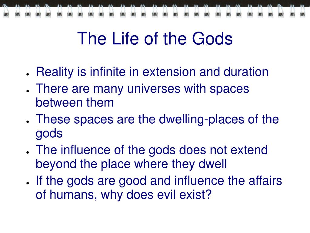 The Life of the Gods