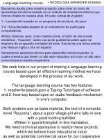 language learning course