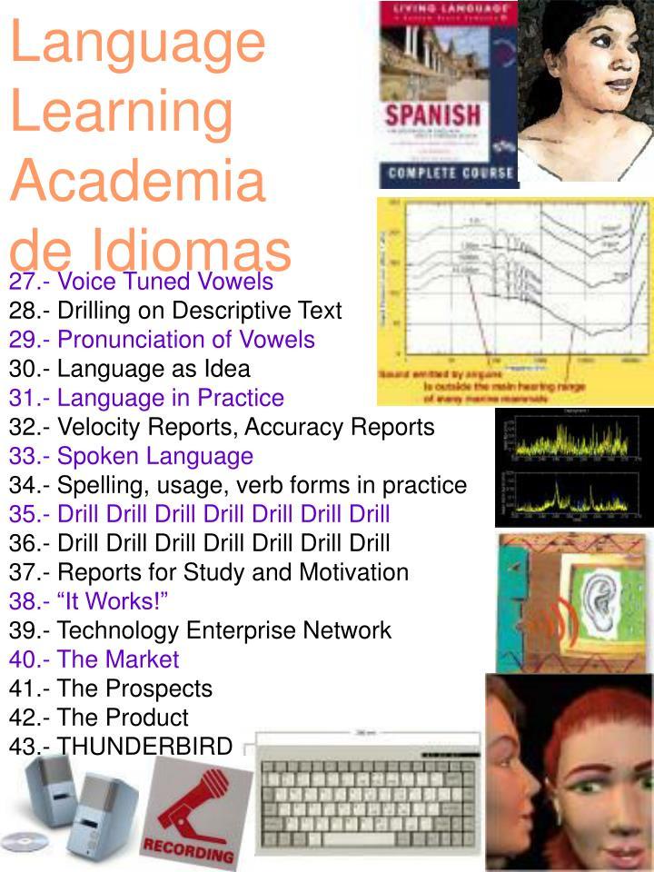Language Learning Academia  de Idiomas