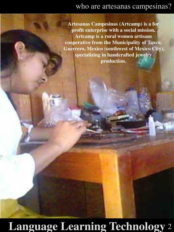 who are artesanas campesinas?