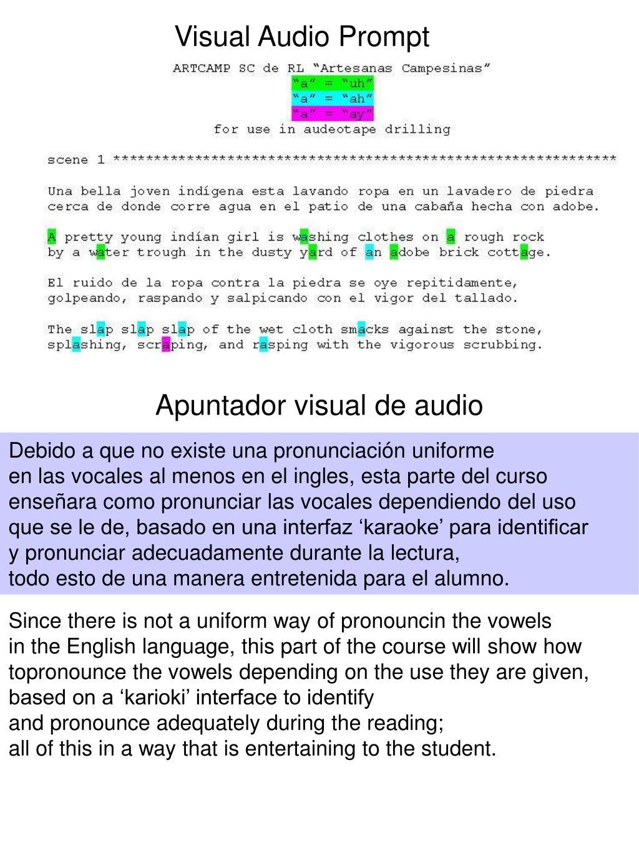 Visual Audio Prompt