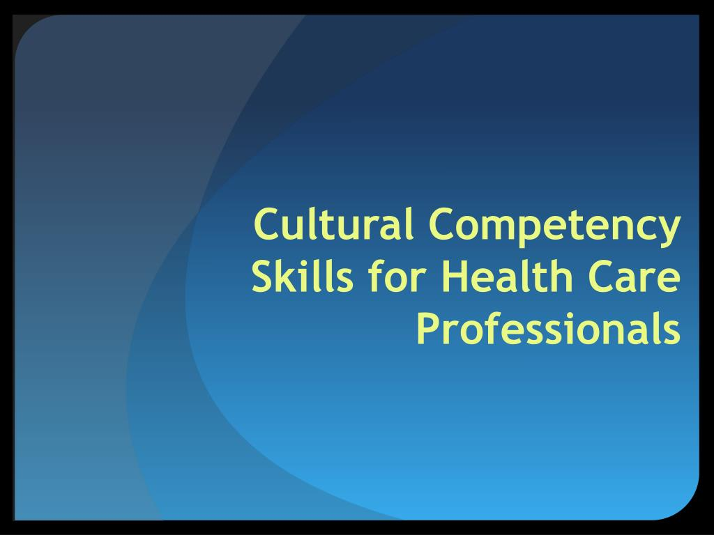 cultural competency Cultural and linguistic competency what is cultural and linguistic competency culturally and linguistically appropriate services are respectful of and responsive to the health beliefs, practices and needs of diverse patients.