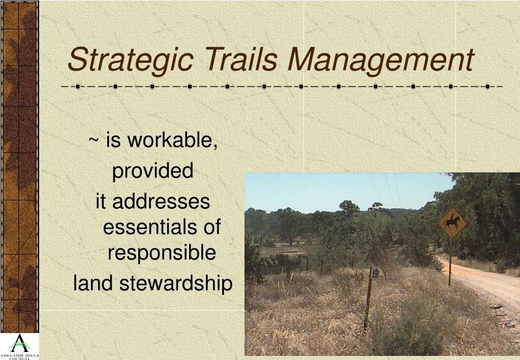 Strategic Trails Management