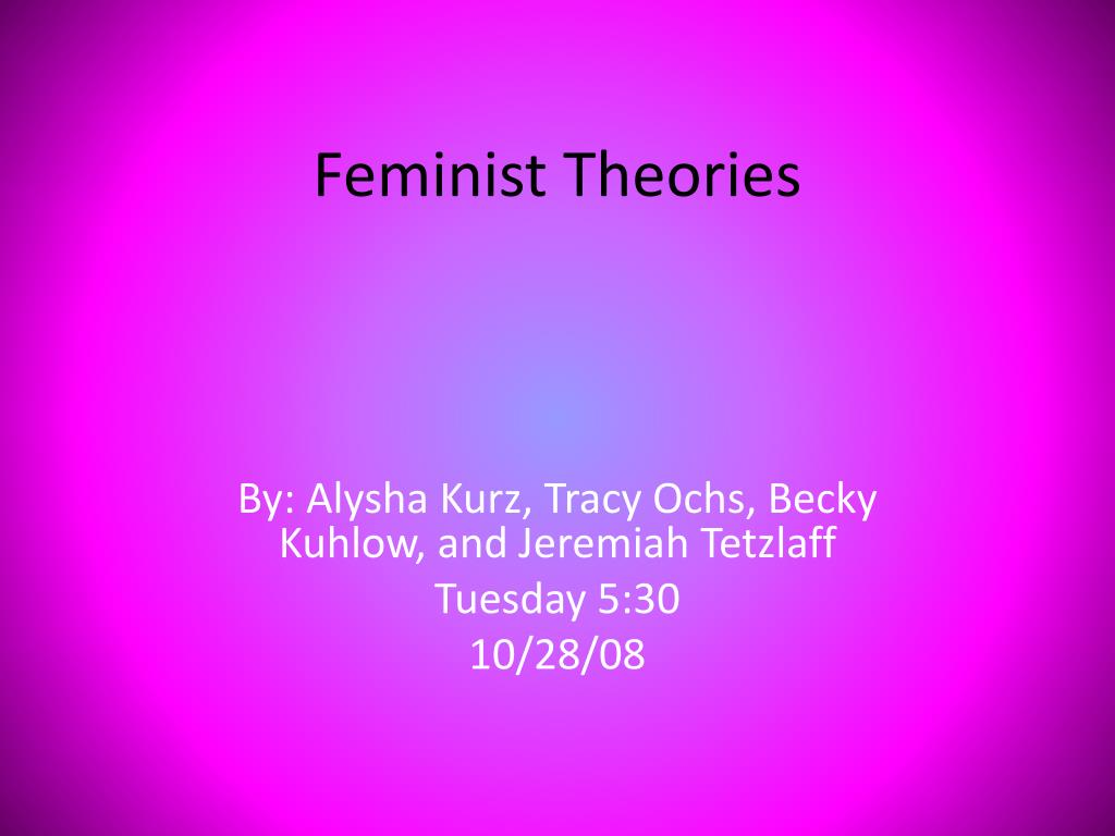 feminist theories l.