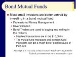 bond mutual funds