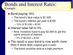 bonds and interest rates example