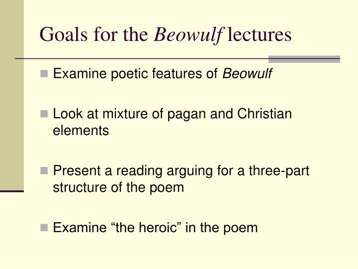 pagan elements in beowulf essay