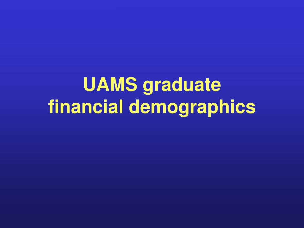 UAMS graduate