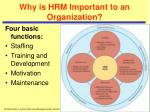 why is hrm important to an organization8