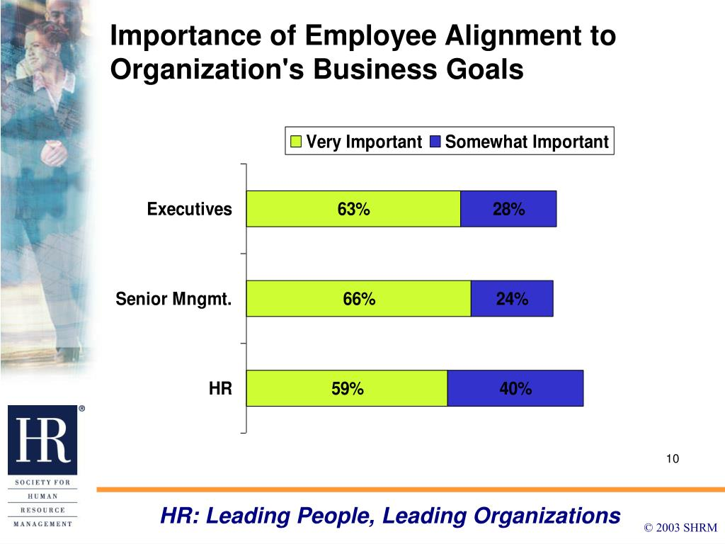 Importance of Employee Alignment to Organization's Business Goals