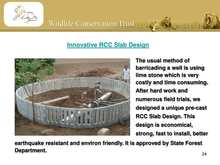 Innovative RCC Slab Design