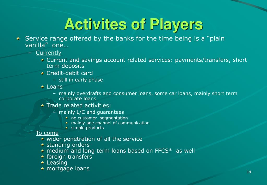 Activites of Players