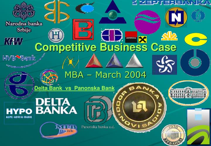 Competitive business case
