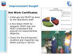improvement sought6