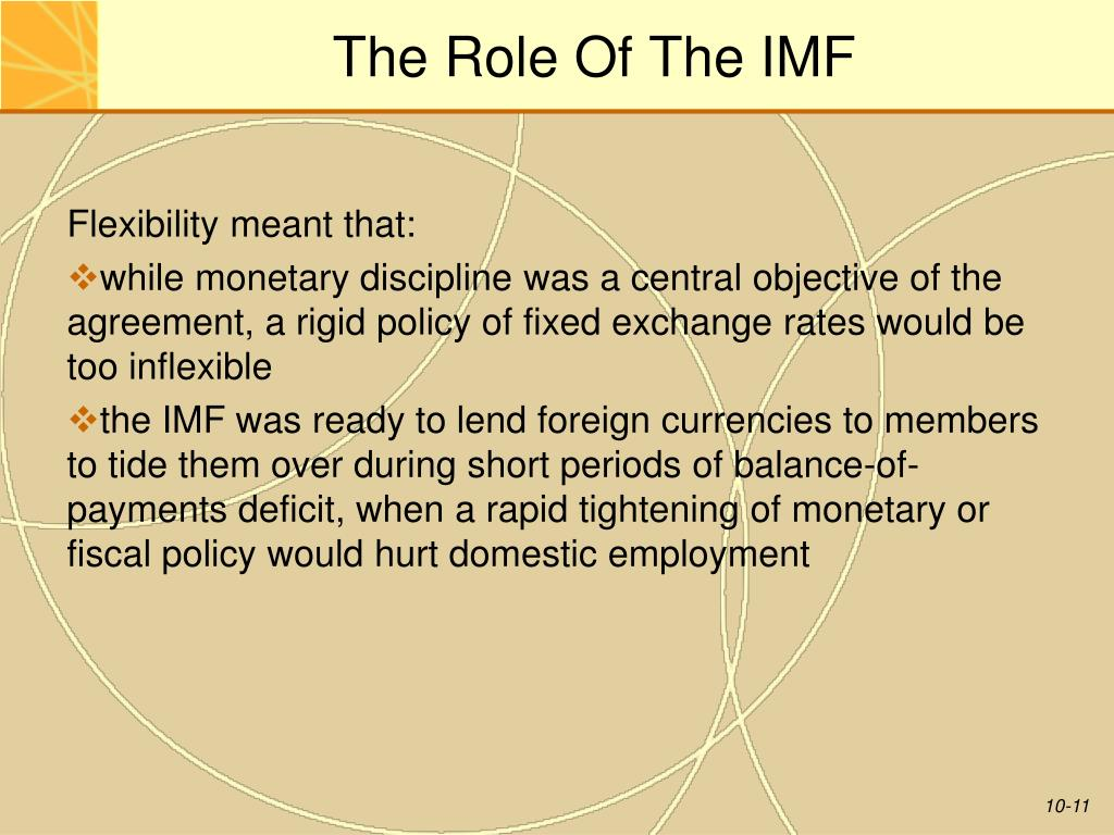 PPT - Chapter 10 The International Monetary System