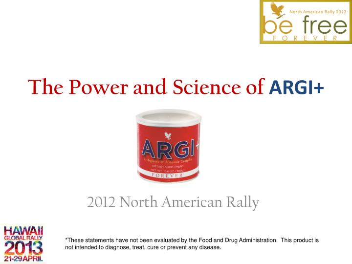 The power and science of argi