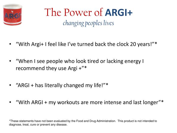 The power of argi changing peoples lives