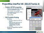 projectwise interplot v8 i selectseries 4