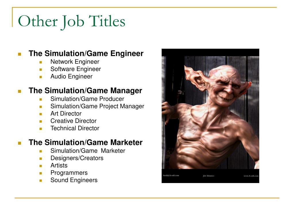 Other Job Titles