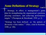 some definitions of strategy16