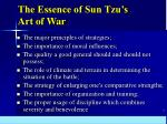 the essence of sun tzu s art of war