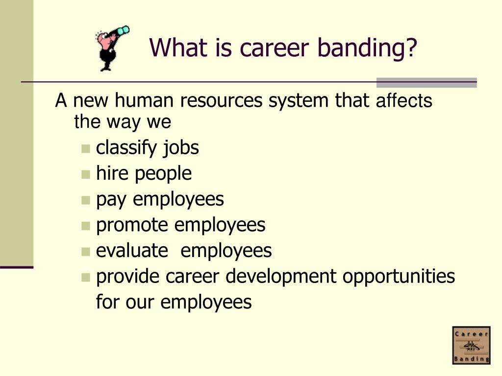What is career banding?