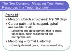 the new dynamic managing your human resources in a tough economy18