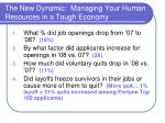 the new dynamic managing your human resources in a tough economy3