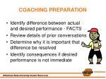 coaching preparation