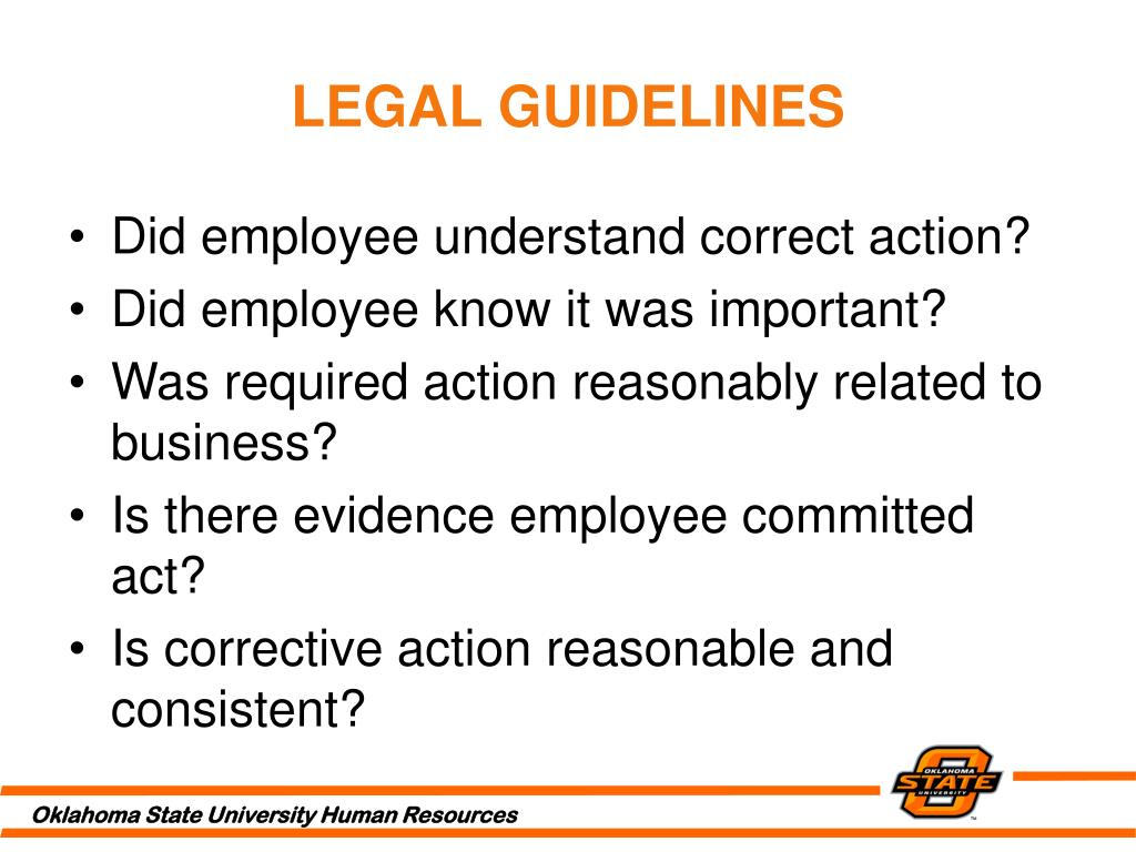 LEGAL GUIDELINES