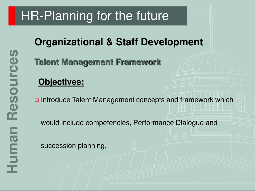 HR-Planning for the future