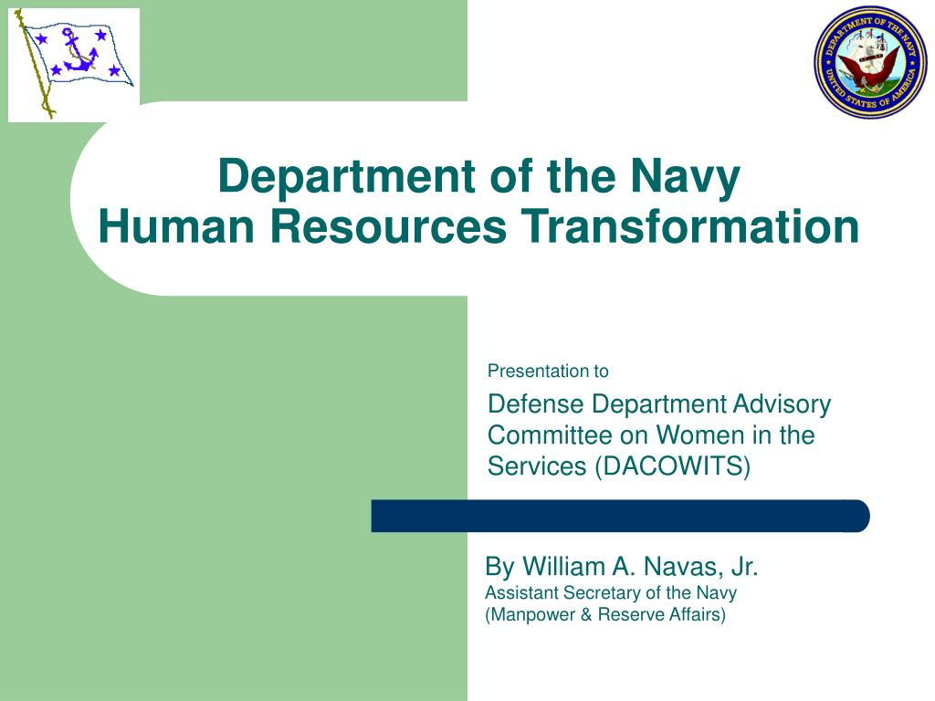 department of the navy human resources transformation