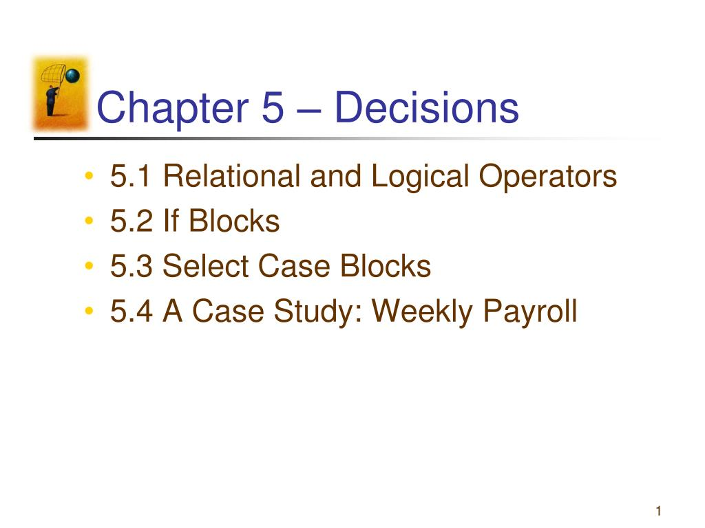 chapter 5 decisions l.