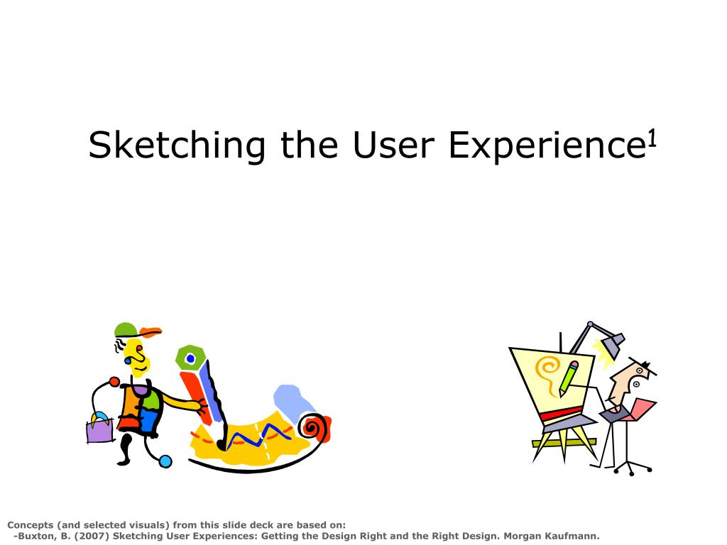 Sketching the User Experience