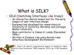 what is silk