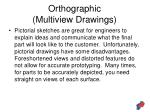 orthographic multiview drawings