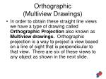 orthographic multiview drawings40